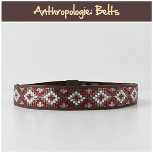 "Anthro ""Crossed Beads Belt"""